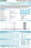 2V1500ah Telecom Solar larga batería de gel de ciclo profundo Opzv