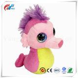 다른 디자인 귀여운 분홍색 연약한 해마/낙지 장난감