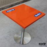 Современные Kingkonree твердой поверхности ресторан мебель обеденный стол