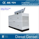 тепловозный молчком комплект генератора 50/60Hz с двигателем 20kVA-500kVA Googol