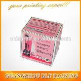 Caja de papel para la promoción de embalaje de mercancías