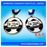 Fútbol de promoción de la medalla de premio para el deporte reunión