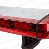 Senken Ultra-Thin 137 mm com Sirena & polícia carro esporte de alto-falante/SUV/Patrol Barra de LED luminoso do Veículo