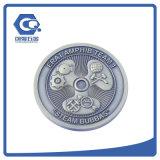 Morrer a moeda comemorativa golpeada dos medalhões macios das moedas do esmalte para a promoção