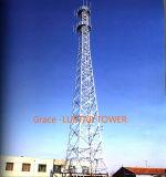 Tours en acier de télécommunication de tube certifiées par ISO9001 pour le téléphone mobile de l'usine