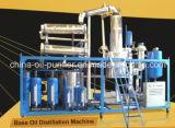 不用なエンジンオイルの蒸留機械か黒い潤滑油の清浄器機械