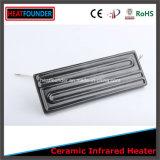 220V/230V de 1000W negro de alta temperatura por infrarrojos de calentadores de cerámica Panel