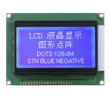 128X64 LCD van de Matrijs van de PUNT Grafische het 6:00 van de Vertoning het Bekijken Hoek