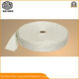 Fita de fibra de vidro adequado para as conexões do tubo de alta temperatura do enrolamento de fio eléctrico e o elemento de aquecimento, cabo etc