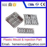 プラスチック型、注入の鋳造物、プラスチックは部分を形成した