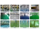 Hualong Precio más bajo Diamond Wearproof de epoxy del piso Recubrimiento