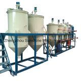Graine de soja brute cocotier d'arachide le raffinage du pétrole la machine