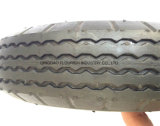 Pr1000 caucho de neumático de rueda de aire para carro de herramientas Tranvía 6''.