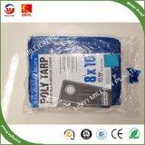 10*10m PE Pesado Tarp com impermeável e anti-UV Exportar para o mercado da América