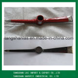 Pickaxe Herramienta agrícola de mano Rolling forjados de acero Pickaxe cabeza P404