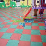 Pavimentazione di gomma esterna/pavimentazione di gomma dei bambini/pavimentazione di gomma di /Sports stuoia di gomma antiscorrimento del campo da giuoco/pavimentazione Anti-Fatigue variopinta di Rubebr