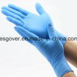 Синий хорошее соотношение цена нитриловые одноразовые перчатки порошка изучение перчатки