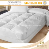 중국 100%년 면 백색 누비질된 호텔 연약한 매트리스 상품