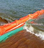 Надувные подушки нефтяного бума твердой резины плавающего положения стрелы масла из ПВХ