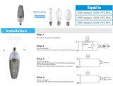 IP65 impermeable al aire libre del LED bulbo del maíz de 50W E40