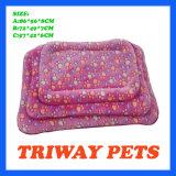 Souple et confortable coussin de velours de corail chien chat (WY1610113-2A/C)
