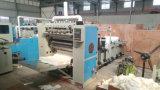Máquinas industriales grabadas automáticas llenas del papel de tejido facial