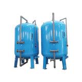 高い産業水処理の流れによって作動するカーボンフィルターシステム