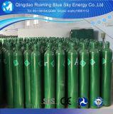 De industriële Gasfles GB5099/ISO9809 40L 150bar/250bar van de Zuurstof