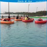 Животных из волокнита лодки Powred воды от батареи 12V 33AH для 1-2 детей с FRP органа и тент из ПВХ трубы