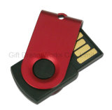 El mecanismo impulsor del flash del mini USB del tornado/del eslabón giratorio con los colores multi para usted elige