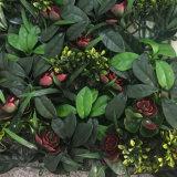 Un aspecto natural de la pared verde jardín vertical de las hojas de plantas sintéticas para la boda Tiendas Office Almacenar El Hotel Restaurante Casa Patio decoración paisajismo diseño