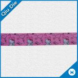 Escrituras de la etiqueta tejidas tela modificadas para requisitos particulares de la cinta para la ropa