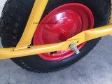 Vendas quente Zincado Wheelbarrow Bandeja de Grande Capacidade