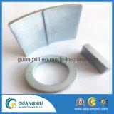 En forma de arco de perforación de material magnético permanente NdFeB a bajo precio
