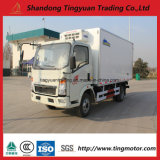 10 판매를 위한 톤 Sinotruk HOWO 냉장고 트럭 140HP