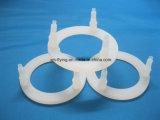 Rondelle piane trasparenti antipolvere resistenti a temperatura elevata della guarnizione della gomma di silicone per la macchina utensile