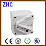 IP66 20A 25A 35A 63A 1p 2p 3p 4p 220V Commutateur de commutation manuel électrique Interrupteur d'isolement de position de cadenas européen avec boîtier