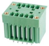 Conector de bloco de terminais plugável de 2,5 mm Pitch