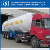 半液体酸素窒素の二酸化炭素のアルゴンのタンク車のトレーラー