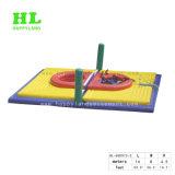 Bossaball moda jogo de voleibol insufláveis para crianças de desporto