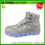 Kid (GS-75269)를 위한 Shoes 높은 쪽으로 새로운 Popular Fashion Luminous Light
