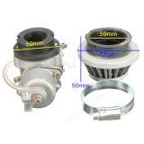Del carburatore Carb+ di filtro dell'aria mini Moto ATV bici della sporcizia della pila 47cc 49cc