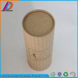 Reciclar papel Kraft de forma redonda tubo puede embalaje