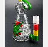Buntes Blatt-Fertigkeit-Vogel-Gefäß-Filter-Glas-Wasser-Rohr
