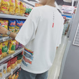 Alta calidad de algodón camiseta puede ser personalizado