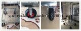 recipiente chapeado zinco do rolo do engranzamento de fio 4-Sides com rodas do gás