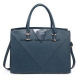 新しい方法PUのステッチのハンドバッグの女性袋