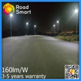 50W IP65 LED Solar Powered Street Lamp com Controle Remoto