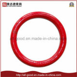 La goccia del hardware di sartiame ha forgiato l'anello rotondo d'acciaio