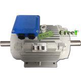 9kw 3 단계 AC 저속 Rpm 동시 영구 자석 발전기, 바람 또는 물 또는 수력 전기 힘